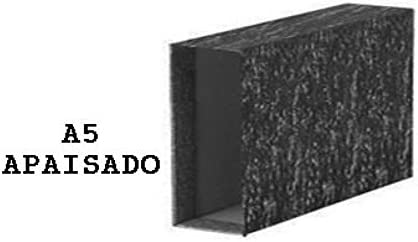 Caja Carton Para Carpeta Archivador A-z A5 Apaisada: Amazon.es: Oficina y papelería