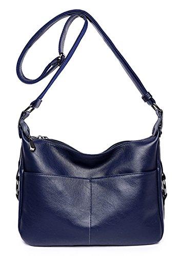 Women Fashion Shoulder Bag Crossbody Handbag(blue) - 8