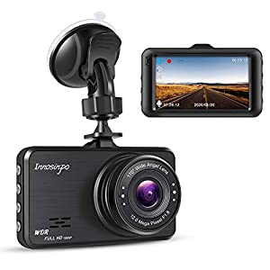 Support 128GB Max 170/°Wide Angle Loop Recording Byakov Upgraded Dash Cam 2 Inch LCD Screen 1080P Full HD Dash Camera for Cars with G-Sensor WDR Night Vision Motion Detection