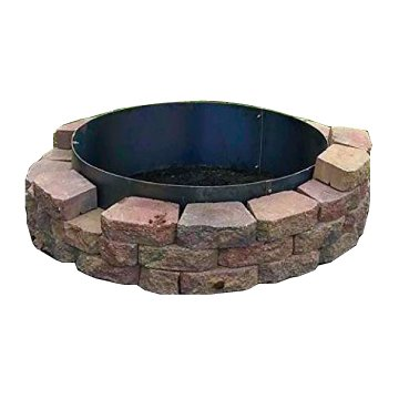 "36″ Diameter x 14 Deep""Steel Metal Fire Pit Ring Liner Insert Only."
