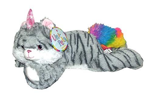 Kellytoy Uni-Pets Unicorn Cat Plush -