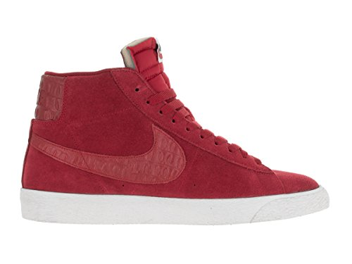 Brown Sneaker gum Sail Red Men's Fashion Ankle High Light gym Premium Blazer Mid Vintge Nike Gym Red 6q8SwC