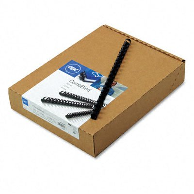 mbBind Standard Spines, 1/2 Diameter, 85 Sheet Capacity, Navy Blue, 100/Box - GBC4012485 ()
