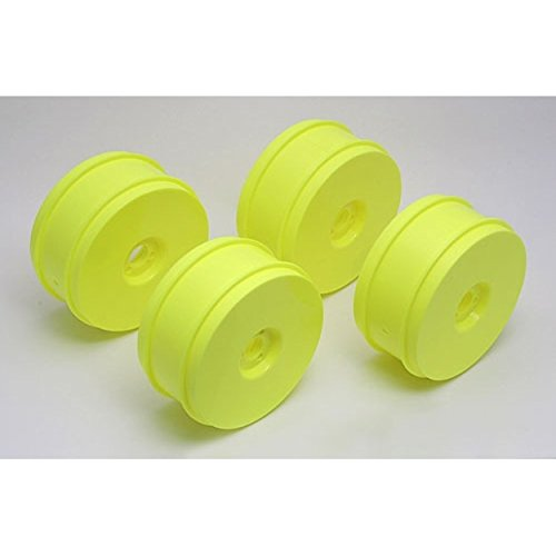 Rc8 Buggy - Team Associated 89297 RC8 83mm Wheels Yellow (4)