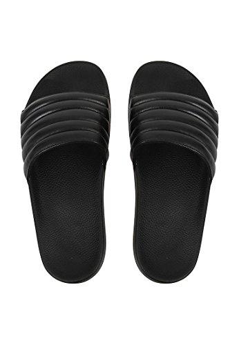SLYDES - Zapatillas para hombre negro negro