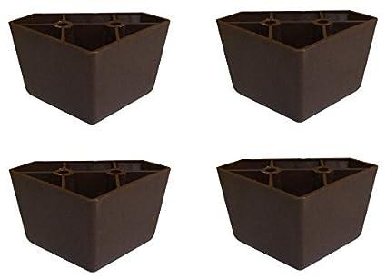 Amazon.com: Conjunto de 4 Universal café Oscuro De Plástico ...