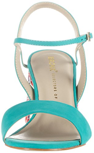 Bx cuña Emerald Sandalias Bronx con 1254 Blau Bjaggerx Mujer pwXd1R4vq1