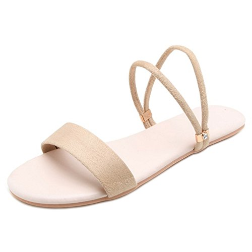 Coolcept Mujer Sandalias Beige Mujer Plano Coolcept wvqwOR7