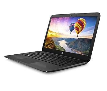 "Hp 14-ax040wm Laptop, Intel Celeron N3060, 1.6 Ghz, 32 Gb, Windows 10 Home 64 Bit, Black, 14"" 2"
