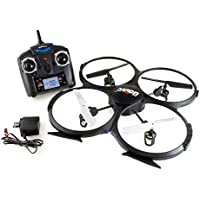 UDI U818A 2.4GHz 4 CH 6 Axis Gyro RC Quadcopter 818A with Camera with 2 Batteries (Holiday Special Combo)