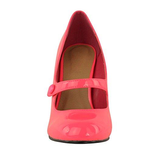 MEDIO cinturino Fashion Basse DONNE tacco D Thirsty caviglia alto alla tHqYqx7O
