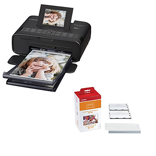 Canon SELPHY CP1200 Wireless Compact Photo Printer and RP-108 Print Kit Bundle by CANON