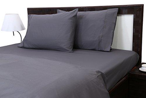 Dark Grey Solid  RV Bunk Size Ultra Soft Natural 4 PCs Bed S