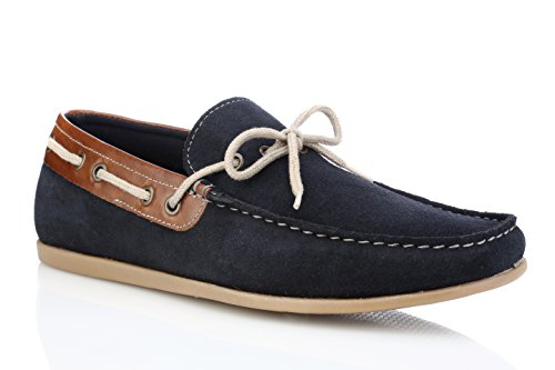 Red Tape Mens Sandy Navy Suede Casual Shoe
