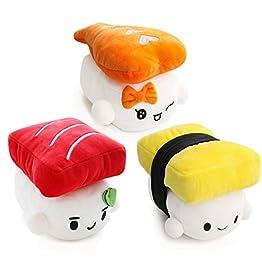 Sushi Plushies - Egg, Shrimp, Tuna 9
