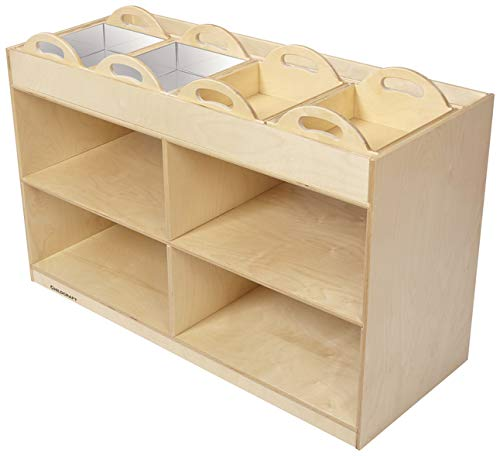 Childcraft Mobile Science Station, 4 Trays, 47-3/4 x 19-1/2 x 32-5/8 Inches by Childcraft