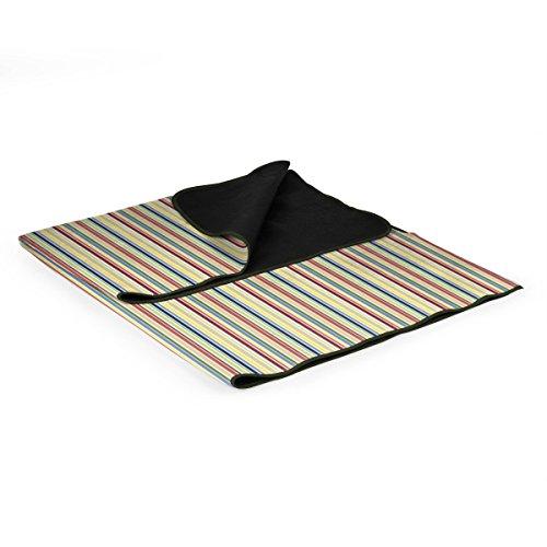 Picnic Time Blanket Tote - Riviera Stripes, Set of (Riviera Blanket Tote)