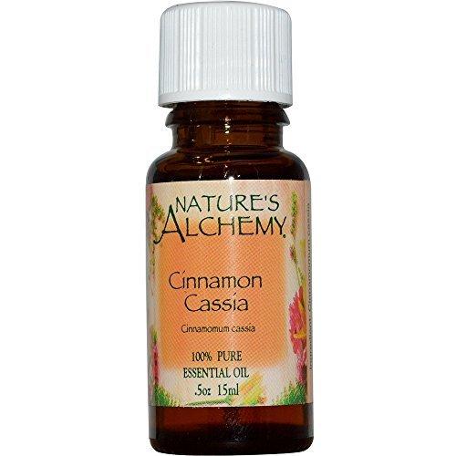 Nature's Alchemy 100% Pure Essential Oil Cinnamon Cassia 0.5