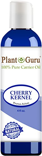 Price comparison product image Cherry Kernel Oil 4 oz. Cold Pressed 100% Pure Natural - Skin, Body and Hair. Great for Massage and Aromatherapy.