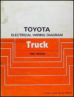 1989 Toyota Pickup Truck Wiring Diagram Manual Original Toyota Amazon Com Books