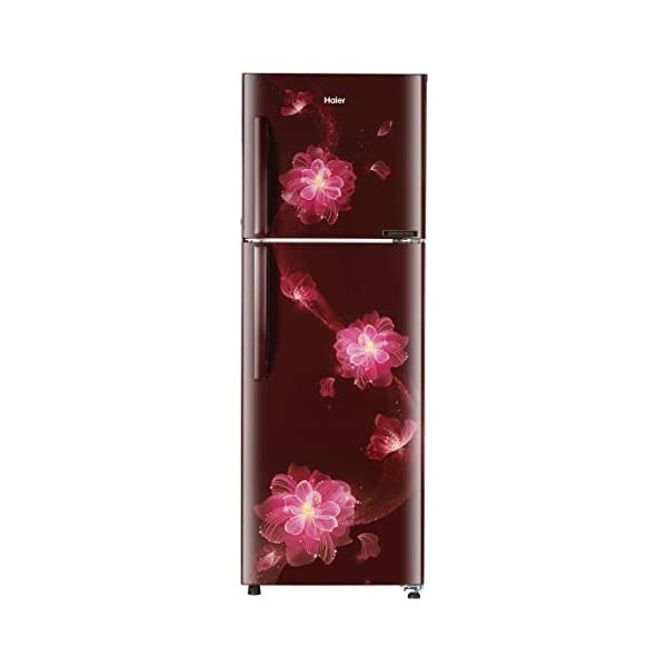 Haier 258 L 2 Star Frost Free Double Door Convertible Refrigerator (HEF-25TRFF, Red Blossom) 2021 July 5-in-1 Convertible Stabilizer free operation-The heavy duty compressors make certain that you never spend a single penny in buying a separate stabilizer. It ranges from 135-290 volts. 10 years warranty on the compressor