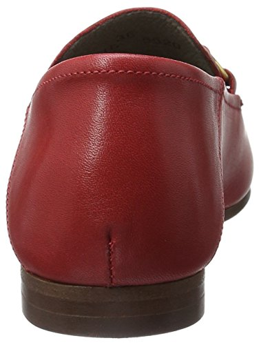 Calf Red para Red Mocasines Hudson London Arianna Mujer Rot RcxqXwE8wg