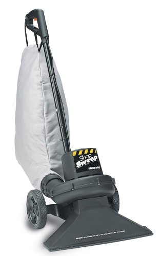 (Shop-Vac 4050010 Shop Sweep Indoor/Outdoor Vacuum With 8-Gallon Collection Bag for Dry Pickup)