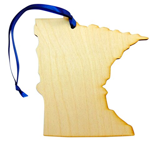 Westman Works State Of Minnesota Wooden Christmas Ornament Boxed Gift Handmade In The Usa