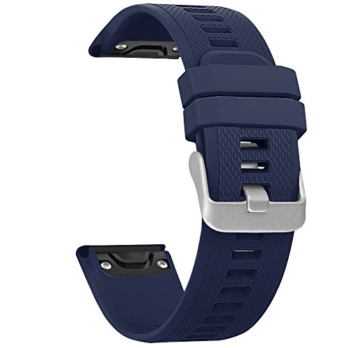 Garmin Fenix 5 Bands, SKYLET Quick Fit Silicone Replacement