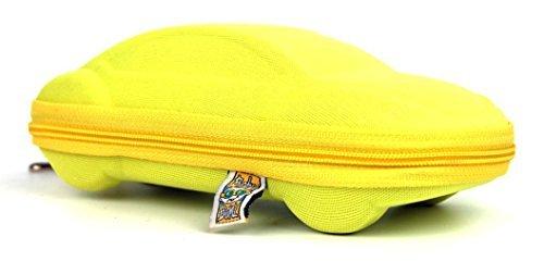 Baby Banz Sunglass Case - Yellow Car - One - Sunglasses Retro Banz