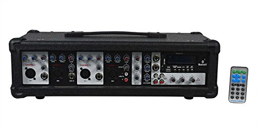 Rockville RPG2X10 Package PA System Mixer/Amp+10'' Speakers+Stands+Mics+Bluetooth by Rockville (Image #4)