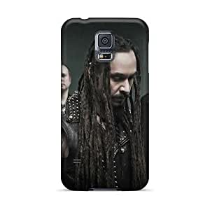 Anti-Scratch Cell-phone Hard Covers For Samsung Galaxy S5 With Custom Fashion My Dying Bride Band Pattern MarieFrancePitre