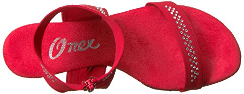 Women's Dancer O Heeled NEX Sandal Onex Red AwztaqE