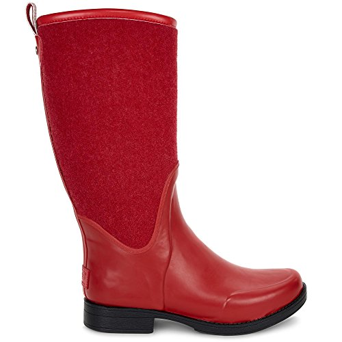 UGG Womens Reignfall Rain Boot Lipstick Red Size 7 - Uggs Boots Women Size 7