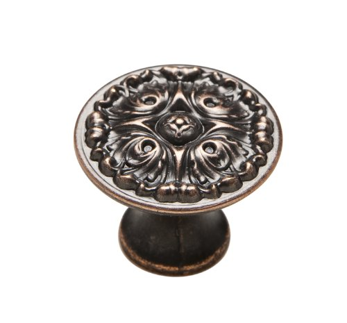 (Knobware K-5073/45/ZN3/VB 1-1/8-Inch Venetian Bronze French Gothic Knob )