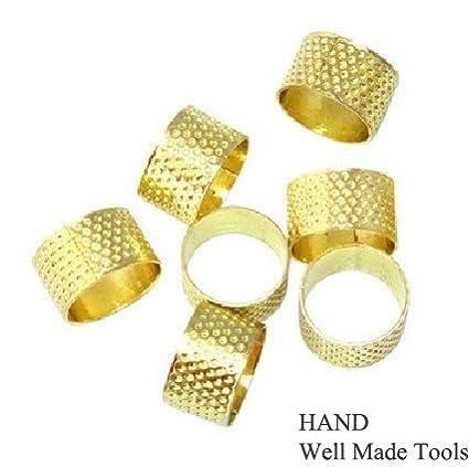 Gold Ring Thimbles Buy 1 Get 1 Free!