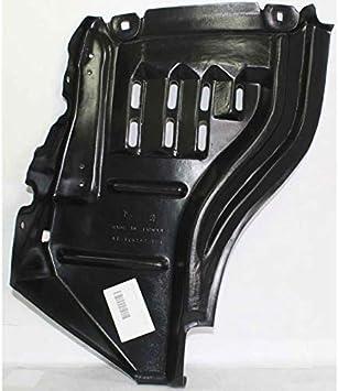 378-44171-12 TO1249147 538050C020 CarPartsDepot Passenger Side Front Section Fender Liner Plastic Splash Shield Without SR5 RH