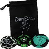 Dirtbag All Star Three Pack- Green/Black, Black Pouch