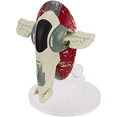 Hot Wheels Star Wars Boba Fett's Slave 1 Vehicle: Toys & Games