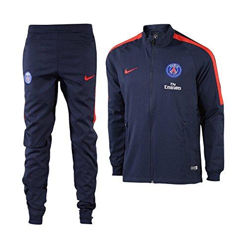 Nike PSG M NK DRY TRK SUIT SQD W - Trainingsanzug Paris Saint Germain Blau - XL - Herren