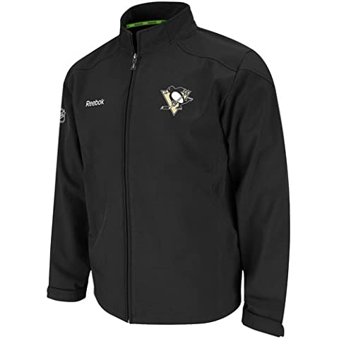 Pittsburgh Penguins Reebok 2011 Center Ice Softshell Full Zip Premium Jacket - Pittsburgh Penguins Jacket