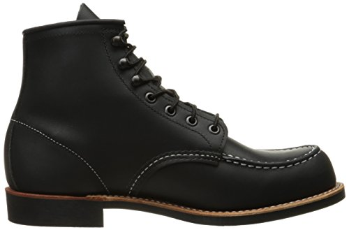 Red Wing Mens Cooper Moc 2964 Leather Boots Black