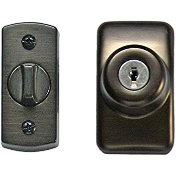 Ideal Security Skglkorb Storm And Screen Door Keyed