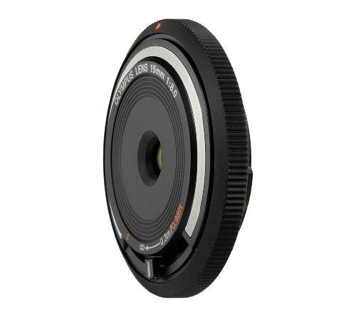 Olympus BCL-15mm f8.0 Body Lens Cap for Olympus/Panasonic Micro 4/3 Cameras (Black) - International Version (No Warranty) by Olympus