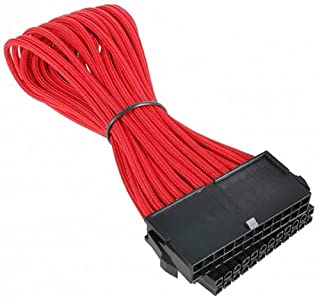 BitFenix Alchemy Multisleeve 24-Pin 30cm ATX Extension Cable -Red
