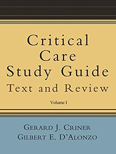 critical care study guide text and review amazon co uk gerard j rh amazon co uk critical care paramedic study guide critical care calculations study guide