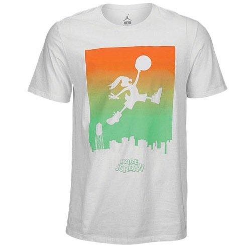 Nike Mens Jordan Jumpbunny WB Skyline T-Shirt #709297-100
