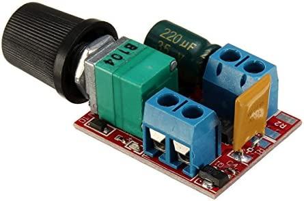 RanDal /Zs-X4B 90W Dc 3-35V Motor Pwm Controlador De Velocidad Interruptor Led Fan Dimmer