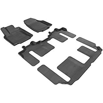 2005 Passenger /& Rear Floor 2006 2004 2008 Toyota Corolla Red Oriental Driver GGBAILEY D4284A-S1A-RD-IS Custom Fit Car Mats for 2003 2007