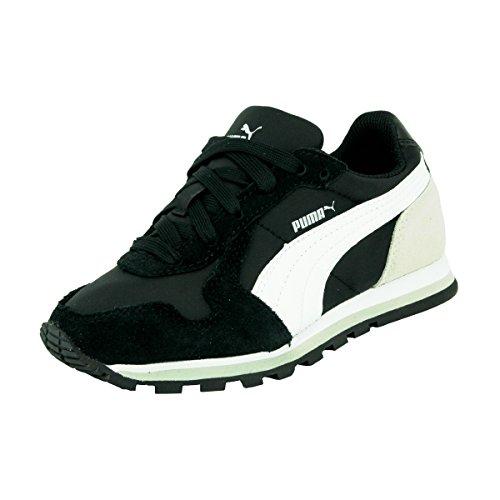 Puma ST Runner NL Jr - zapatilla deportiva de material sintético infantil Negro